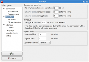 FileZilla Configuration
