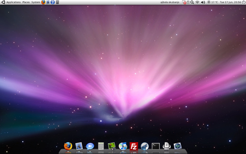 Mac OS X Screenshot