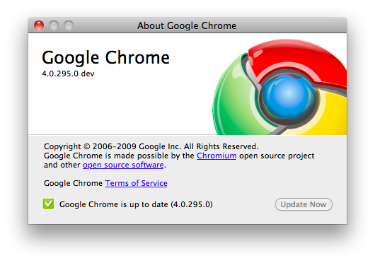 software google chrome