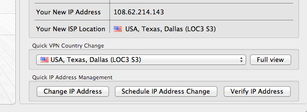 HideMyAss Change IP Address