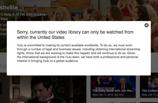 Hulu United States Only