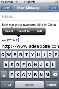send attachment on iPhone/iPad