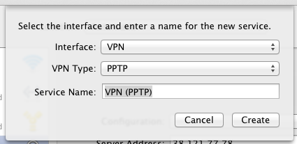 setup VPN on Mac PPTP adeepbite.com