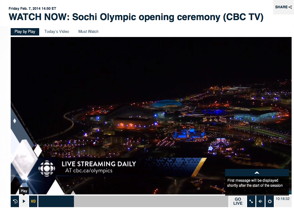 Watch Sochi Olympics Free Streams Online