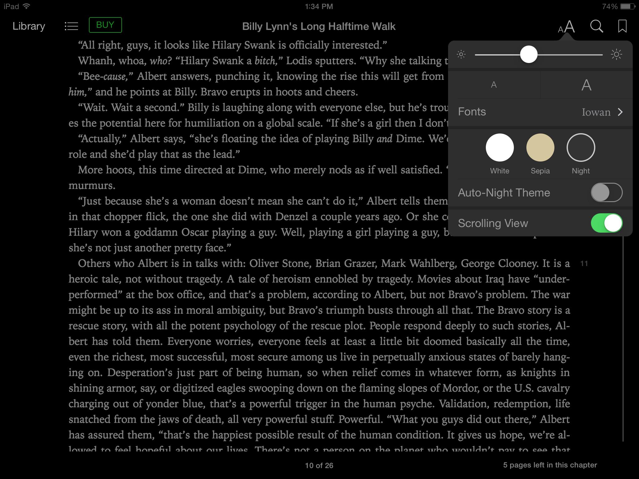 ePub format in iBooks
