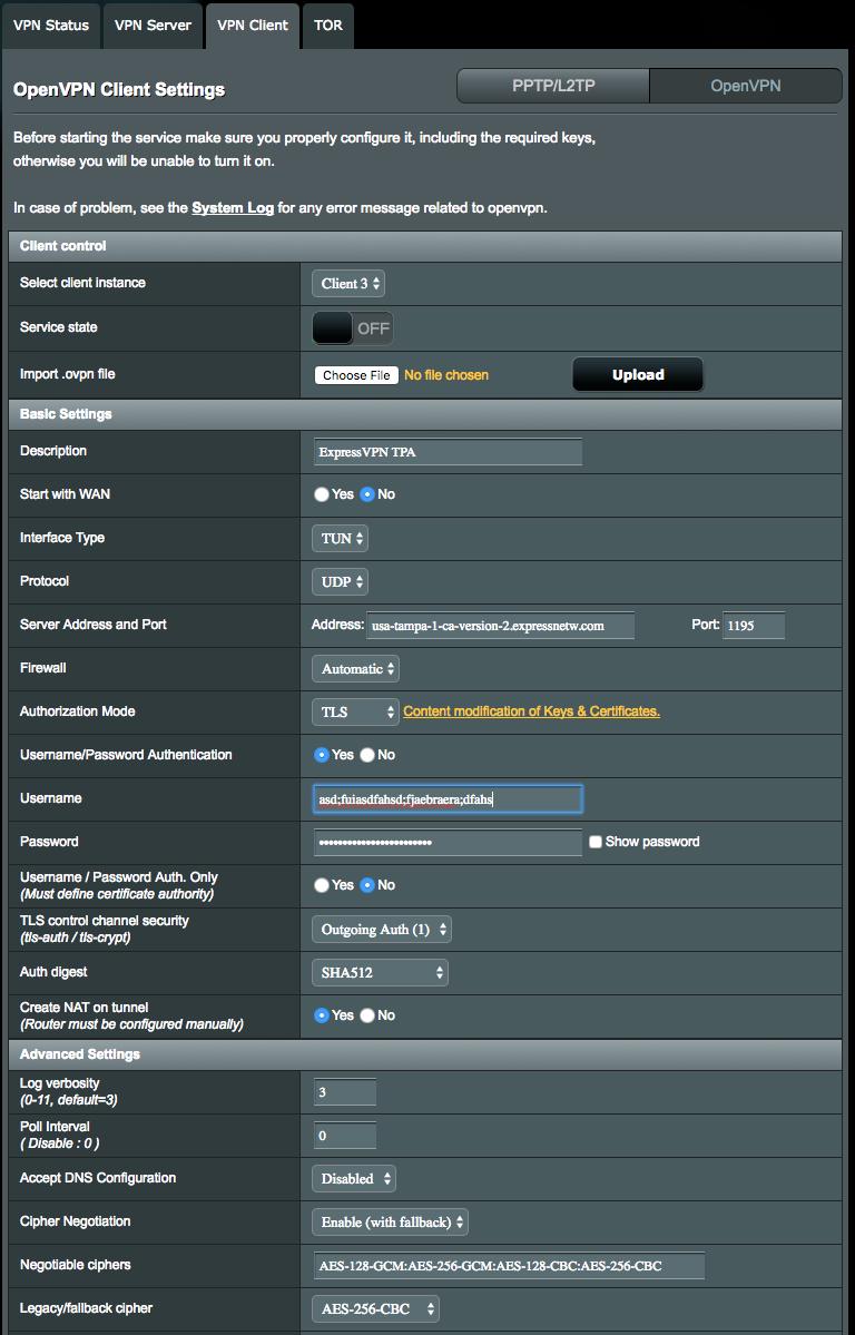 ExpressVPN - Router Setup